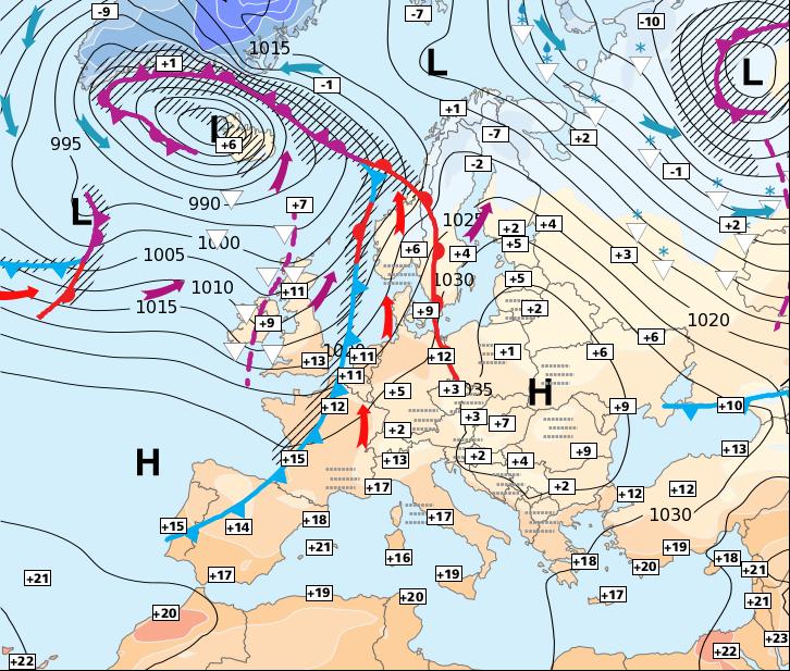 Image d'illustration pour Retour au moins temporaire de l'anticyclone