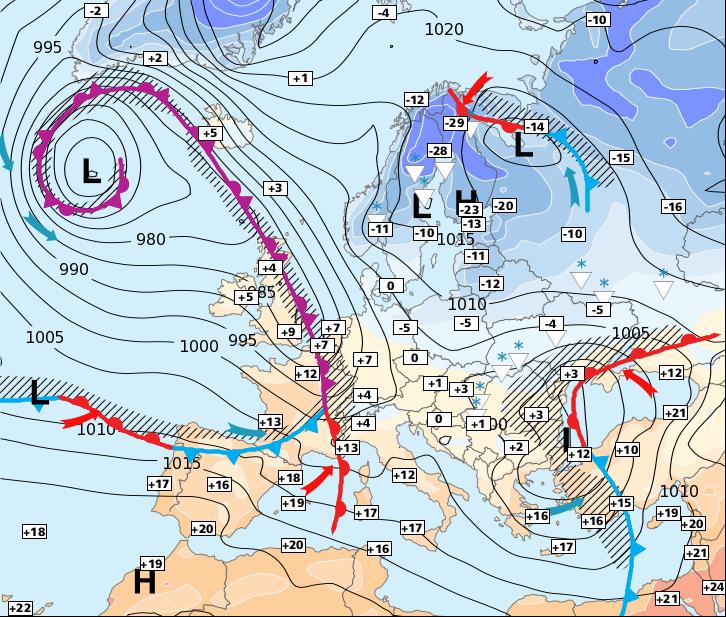 Image d'illustration pour Une tempête pour lundi matin ?