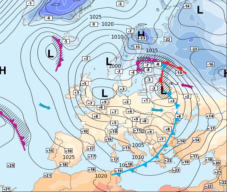 Image d'illustration pour Accalmie très temporaire et baisse des températures