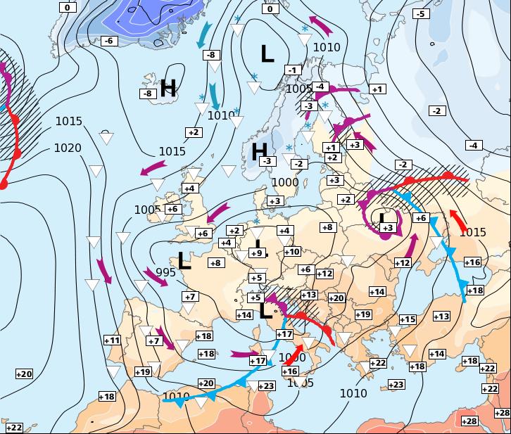 Image d'illustration pour Plus froid et progressivement plus sec jusqu'à mercredi