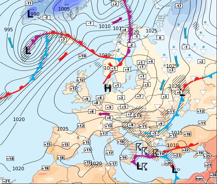 Image d'illustration pour Semaine anticyclonique et généralement ensoleillée