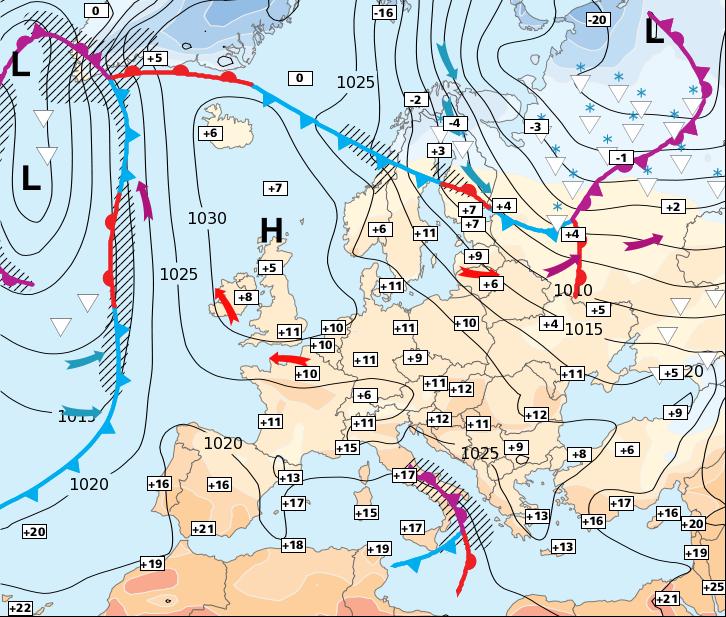 Image d'illustration pour Retour des nuages par le nord, puis par le sud-ouest