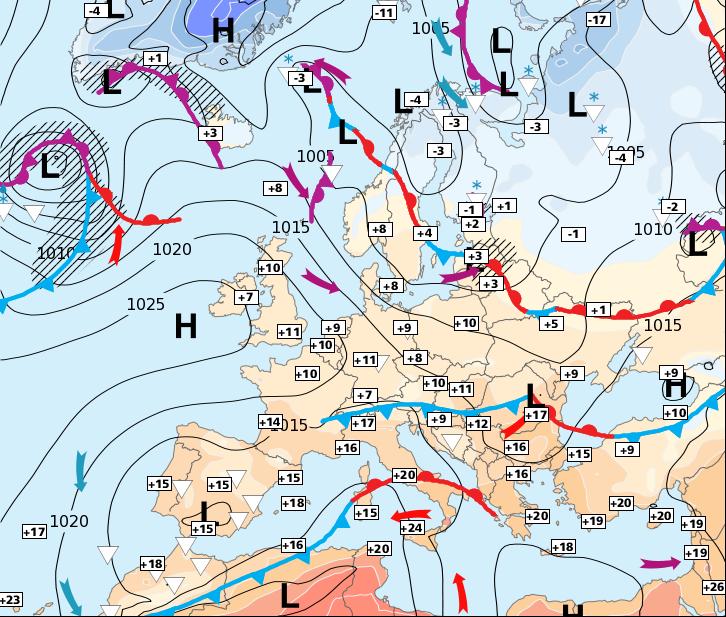 Image d'illustration pour Calme et sec, avant le retour des perturbations océaniques