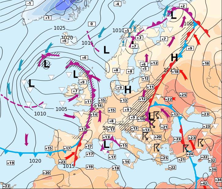 Image d'illustration pour Remontée des températures, mais les averses reviennent rapidement