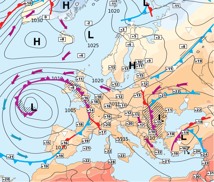 Image d'illustration pour Un risque d'averses ou d'orages quasiment tous les jours