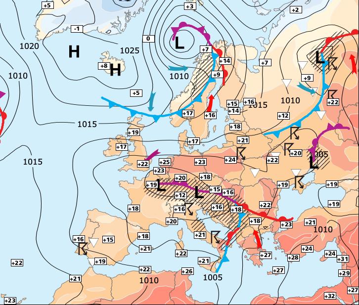 Image d'illustration pour Baisse sensible des températures pour ce week-end