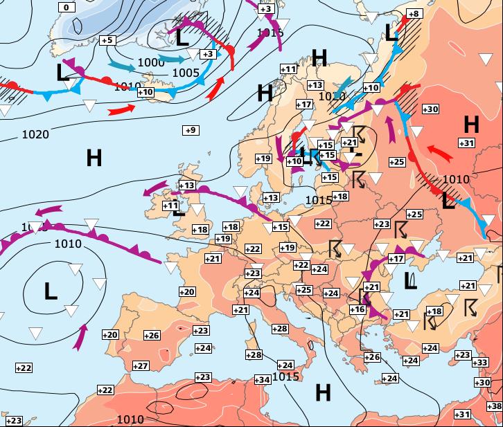 Image d'illustration pour De plus en plus lourd et orageux jusqu'à samedi ou dimanche