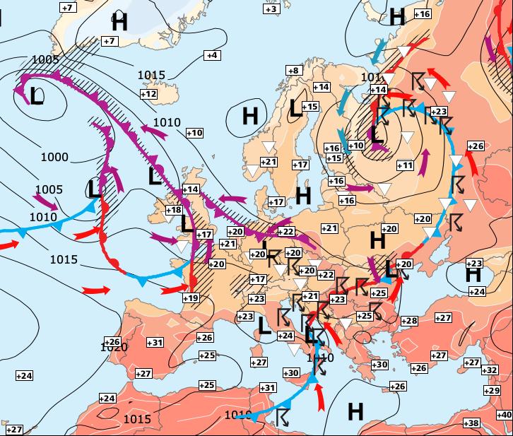 Image d'illustration pour Encore une semaine très instable avec de nombreuses averses !