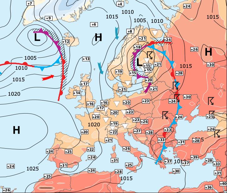 Image d'illustration pour La chaleur s'imposera entre mercredi et jeudi