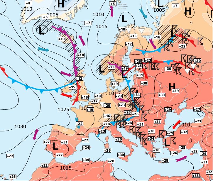 Image d'illustration pour Pas de grand beau temps en vue, sauf près de la Méditerranée