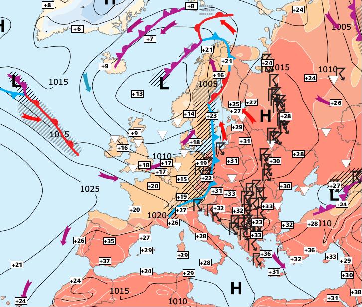 Image d'illustration pour Dimanche encore gris au nord - semaine un peu plus chaude