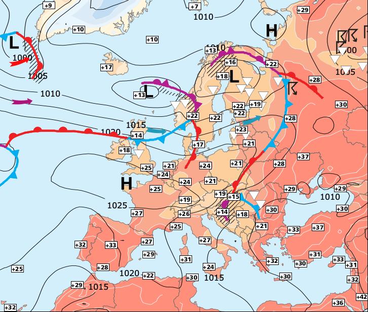 Image d'illustration pour Très fortes chaleurs sur la moitié Sud !
