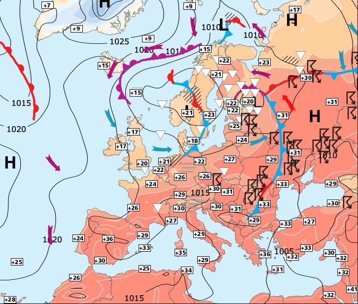 Image d'illustration pour Des prévisions météo difficiles pour ce samedi...