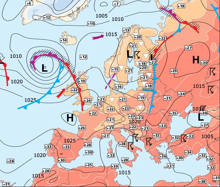 Image d'illustration pour Le barrage anticyclonique va de nouveau céder !