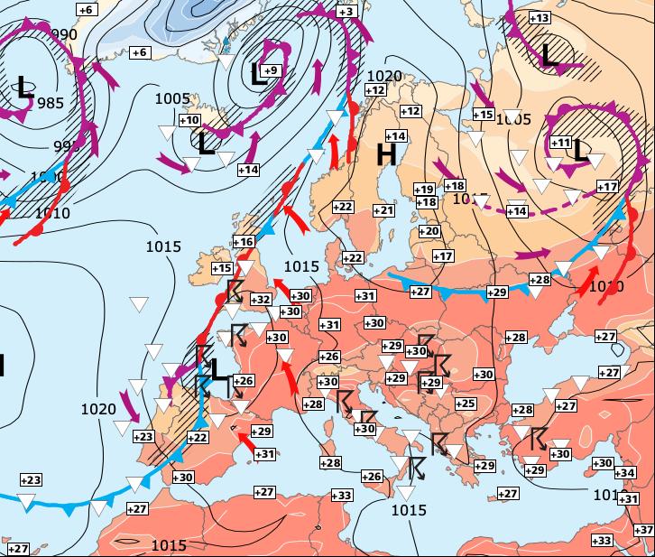 Image d'illustration pour Brutal changement de temps au sud et fin des fortes chaleurs
