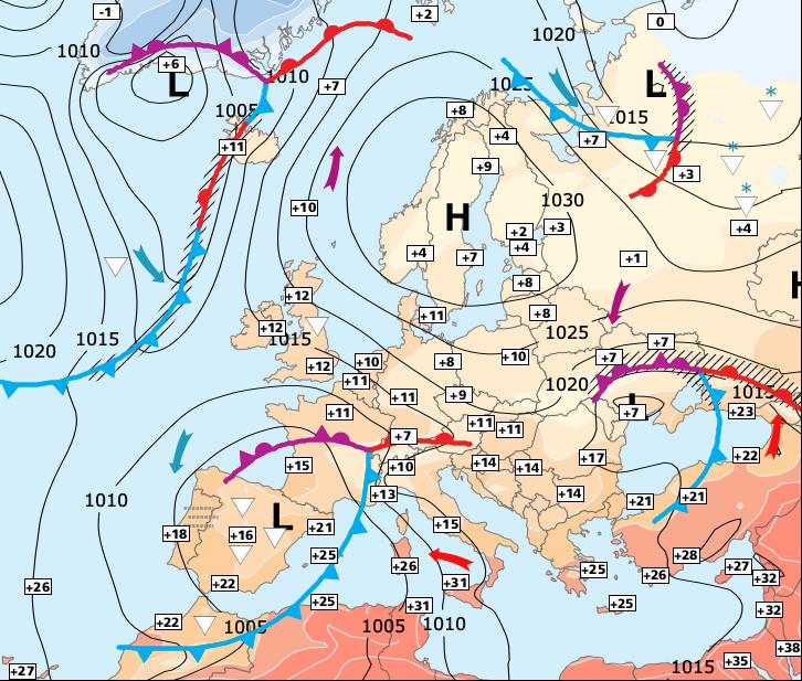 Image d'illustration pour Fortes pluies dans le Sud-est avant un week-end plus calme