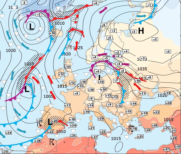Image d'illustration pour Fortes pluies et douceur venues de Méditerranée