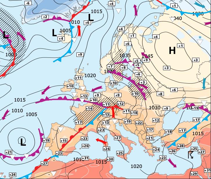 Image d'illustration pour Déjà le retour de l'anticyclone...!!