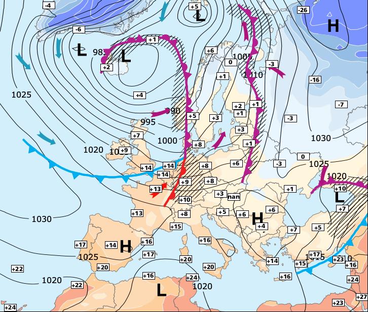 Image d'illustration pour Possible tempêtes ce week-end
