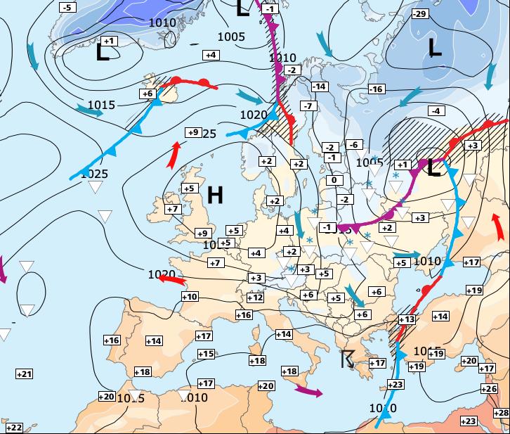 Image d'illustration pour Le froid sec s'impose sur une grande moitié Nord