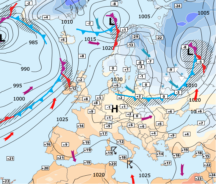 Image d'illustration pour L'anticyclone nous accompagnerait jusqu'à Noël ?