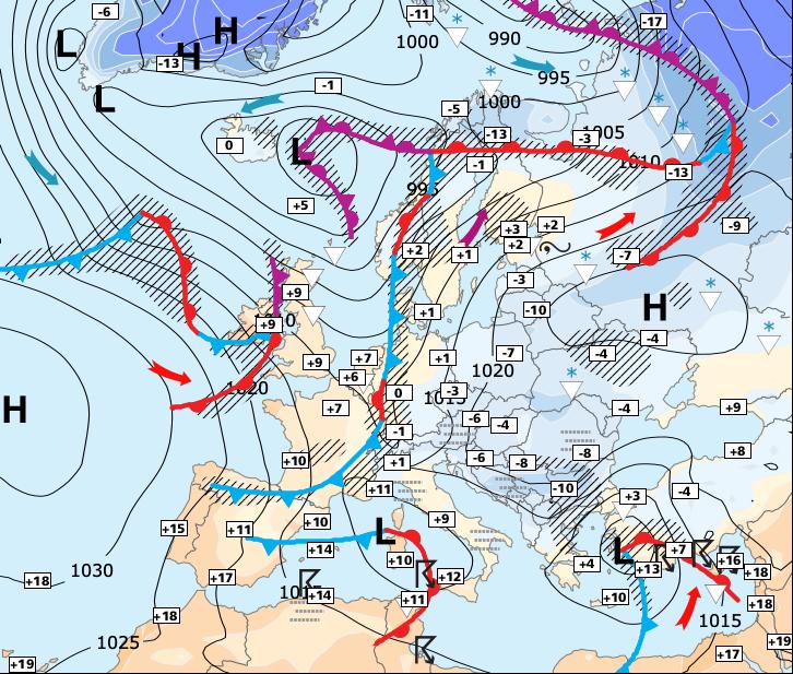 Image d'illustration pour Menace de vague de froid pour la semaine prochaine !