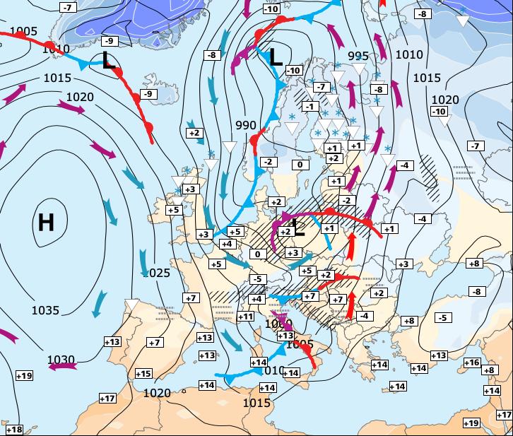 Image d'illustration pour La vague de froid se confirme à partir de lundi ou mardi