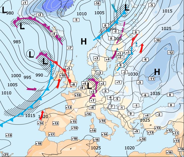 Image d'illustration pour Attention au risque de tempêtes pour la fin de la semaine