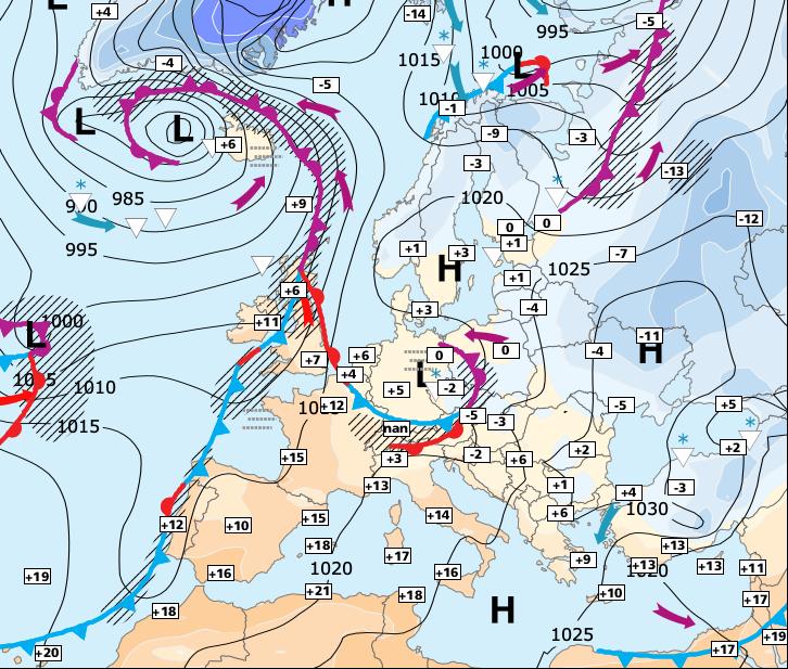 Image d'illustration pour Sérieux risque de tempêtes entre vendredi et dimanche