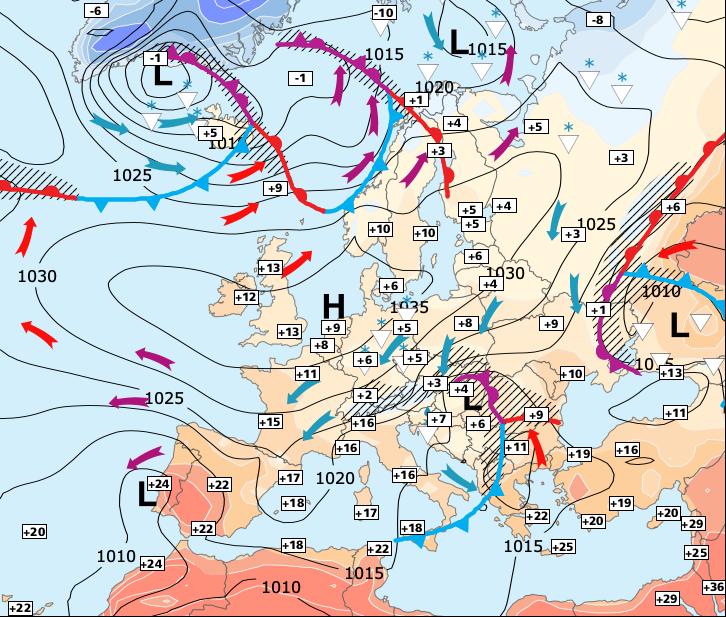 Image d'illustration pour Réchauffement temporaire entre jeudi après-midi et vendredi