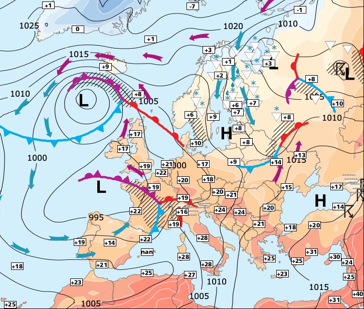 Image d'illustration pour Averses et orages jusqu'à dimanche, puis soleil et chaleur !