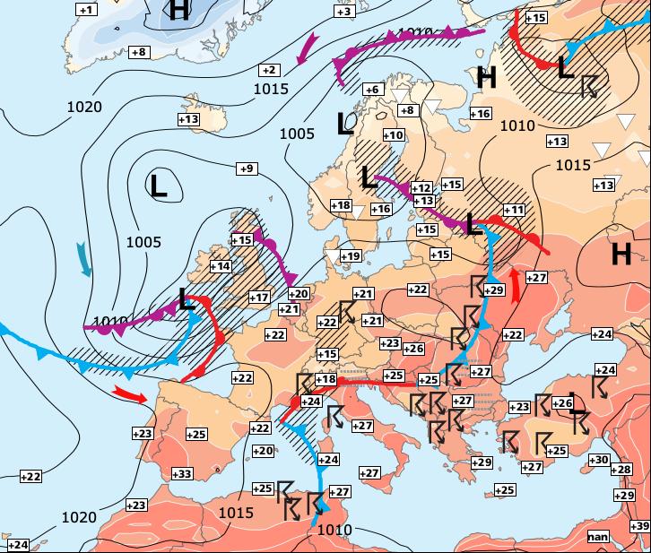 Image d'illustration pour Coup de vent automal, avant une fin de semaine très estivale
