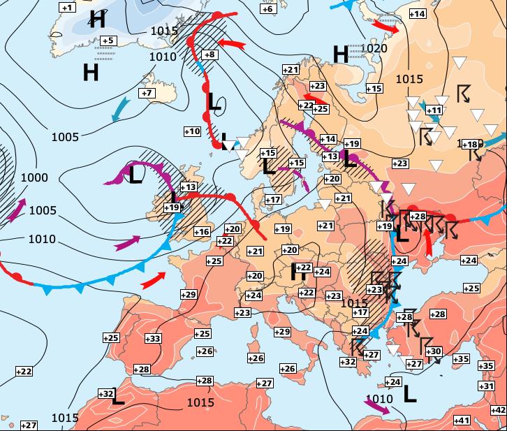 Image d'illustration pour Le week-end sera très chaud, notamment sur la moitié Sud