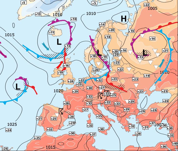 Image d'illustration pour Fin de la vague de chaleur prévue entre dimanche et lundi