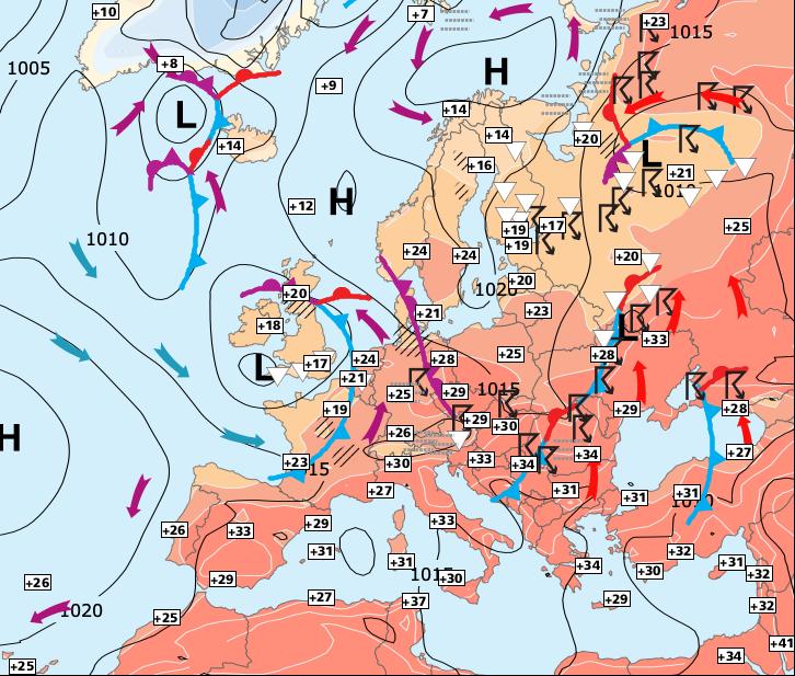 Image d'illustration pour Pas de nouvelle periode estivale généralisée avant vendredi