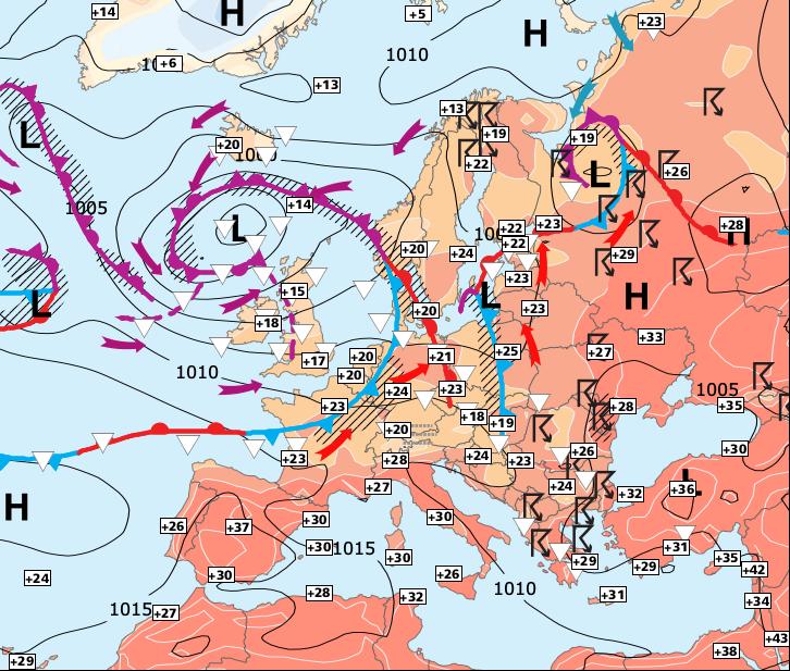 Image d'illustration pour La chaleur gagne du terrain, sauf dans Nord-ouest