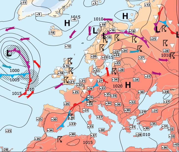 Image d'illustration pour La forte chaleur du Sud-est ne s'estompera que très lentement