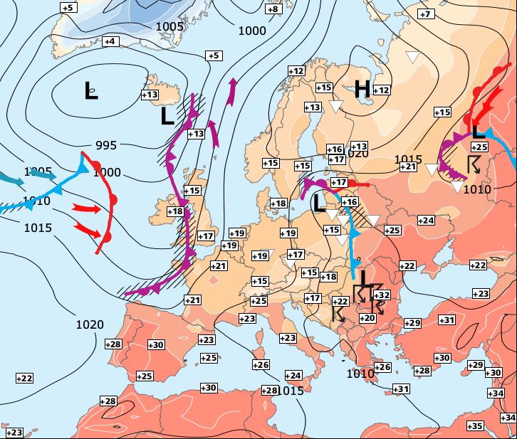 Image d'illustration pour Semaine plutôt sèche et assez mitigée, sauf dans le Sud-est