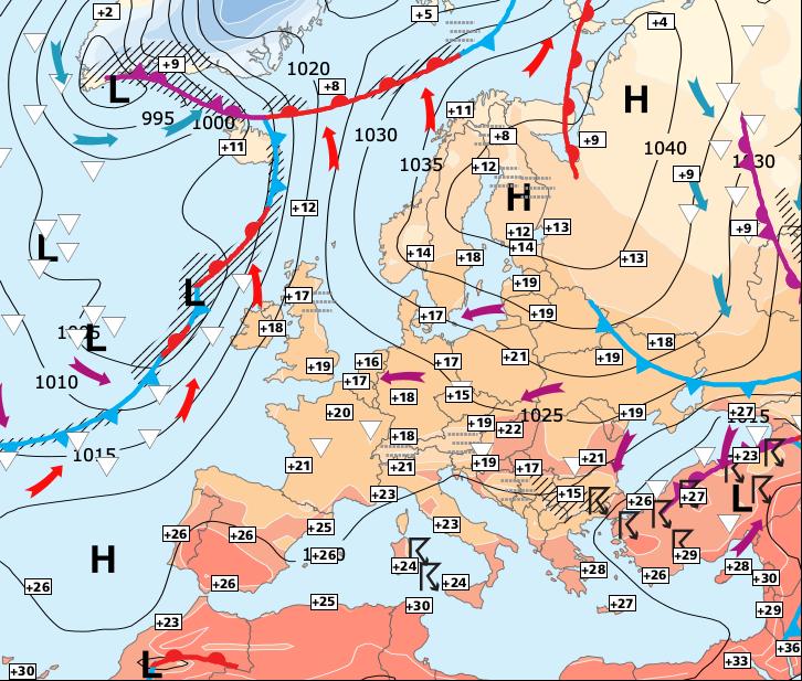 Image d'illustration pour Retour du beau temps sur la moitié Sud