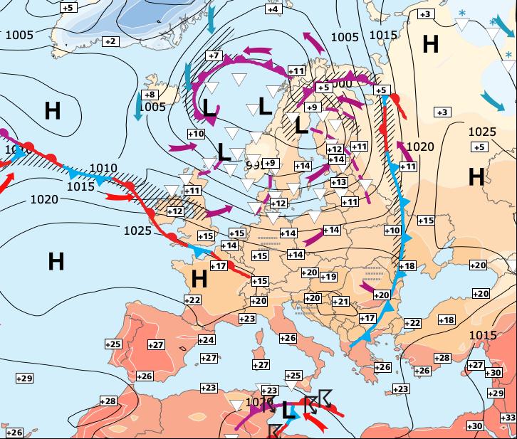 Image d'illustration pour Nouvelle chute des températures pour vendredi