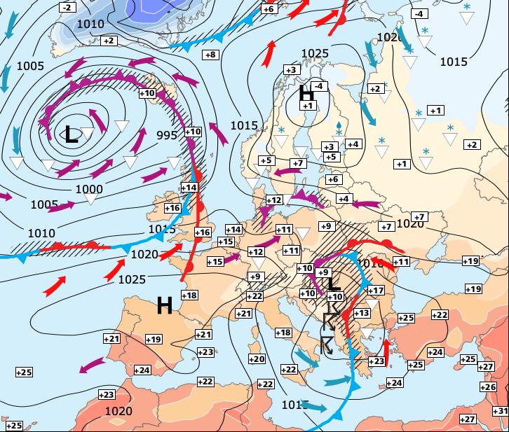 Image d'illustration pour Lente amélioration jusqu'à jeudi mais toujours des nuages au Nord