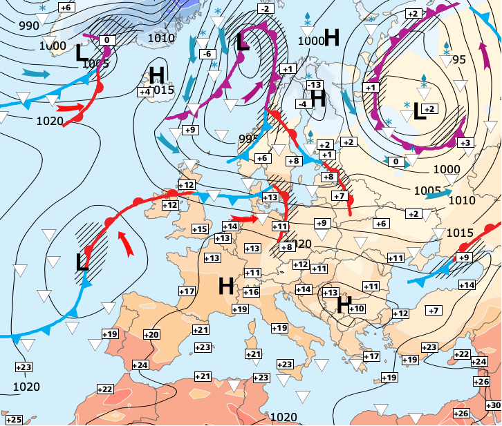 Image d'illustration pour Fortes pluies pour ce week-end dans le Sud-est