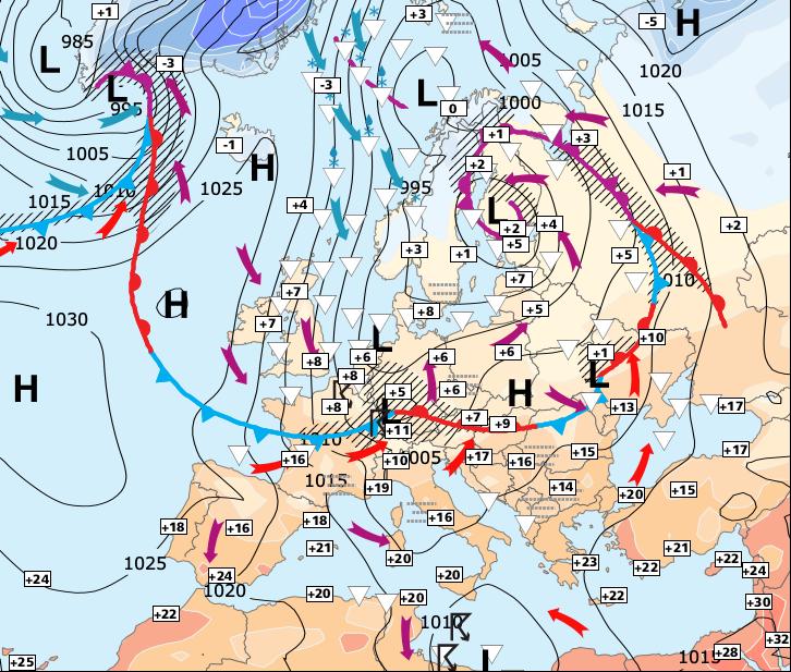 Image d'illustration pour Retour au calme dés lundi ou mardi selon les régions
