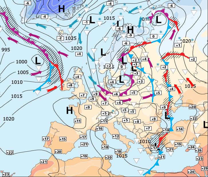 Image d'illustration pour Hausse généralisée des températures jusqu'à vendredi