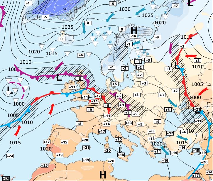 Image d'illustration pour Baisse sensible des températures pour samedi