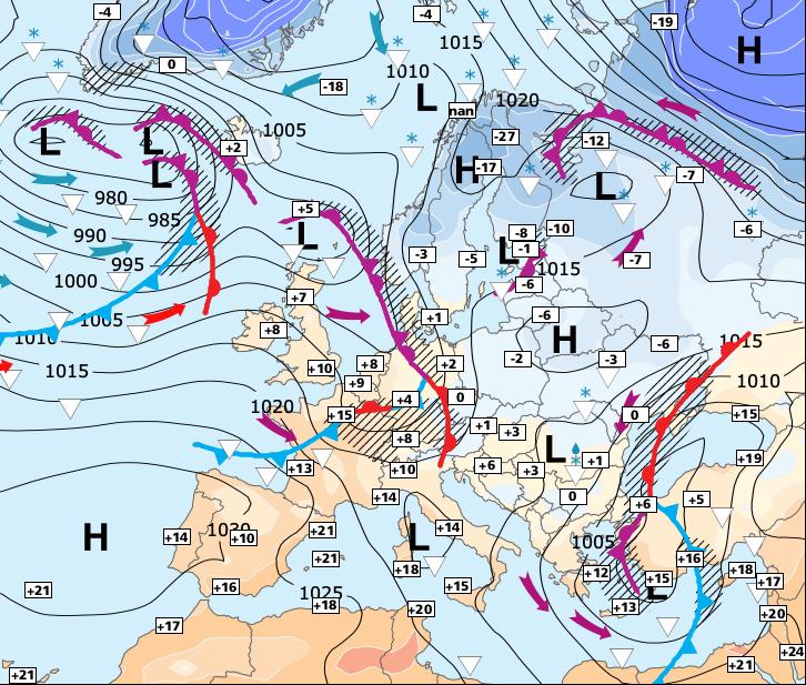 Image d'illustration pour Doux et temporairement plus sec jusqu'à mercredi
