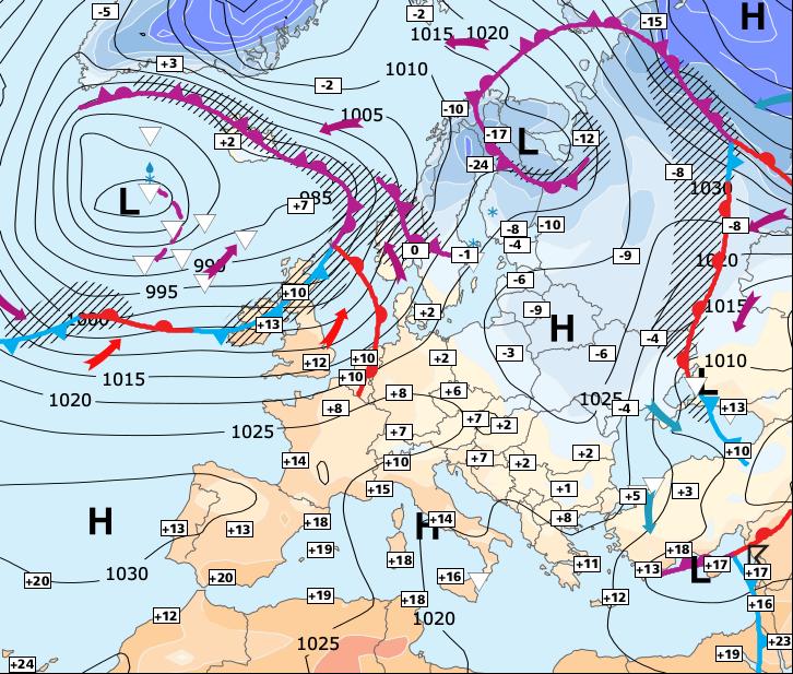 Image d'illustration pour Vers un temps globalement plus sec (sauf jeudi et vendredi)
