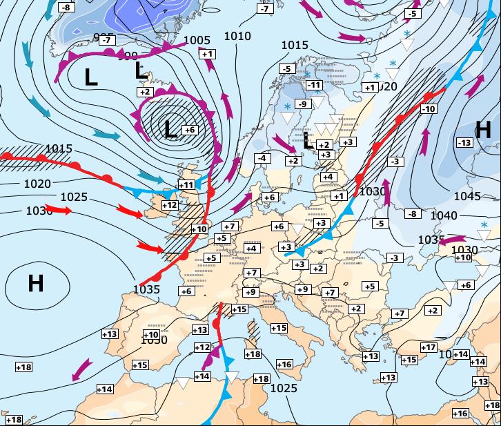 Image d'illustration pour Conditions météo favorables à une lente décrue