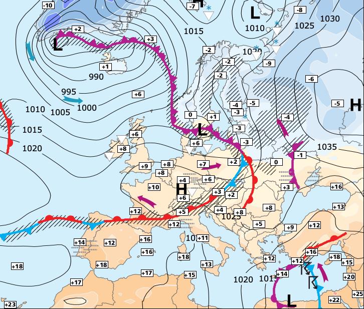 Image d'illustration pour Un froid beaucoup plus sec la semaine prochaine