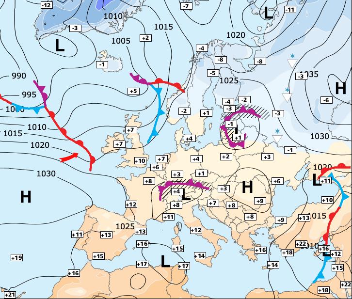 Image d'illustration pour La semaine prochaine sera dominée par un froid sec